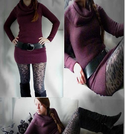 printed tights nancykikuko