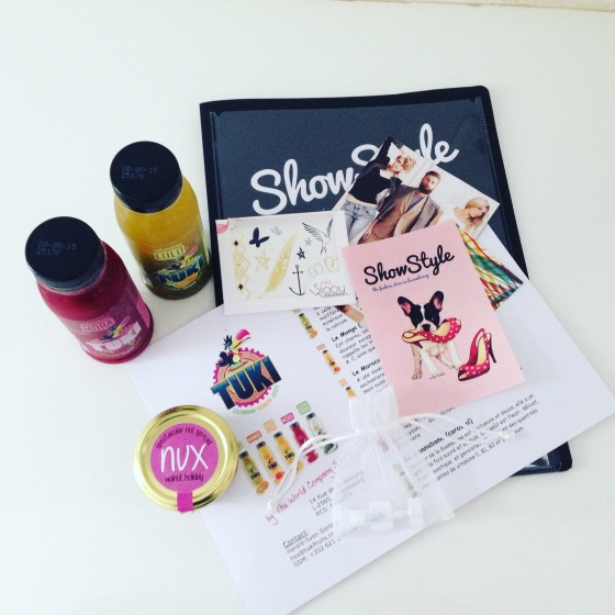 Show style goodie bag