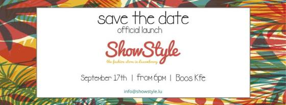 Showstyle event invitation